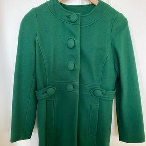 EUC Banana Republic green Petite xs jacket